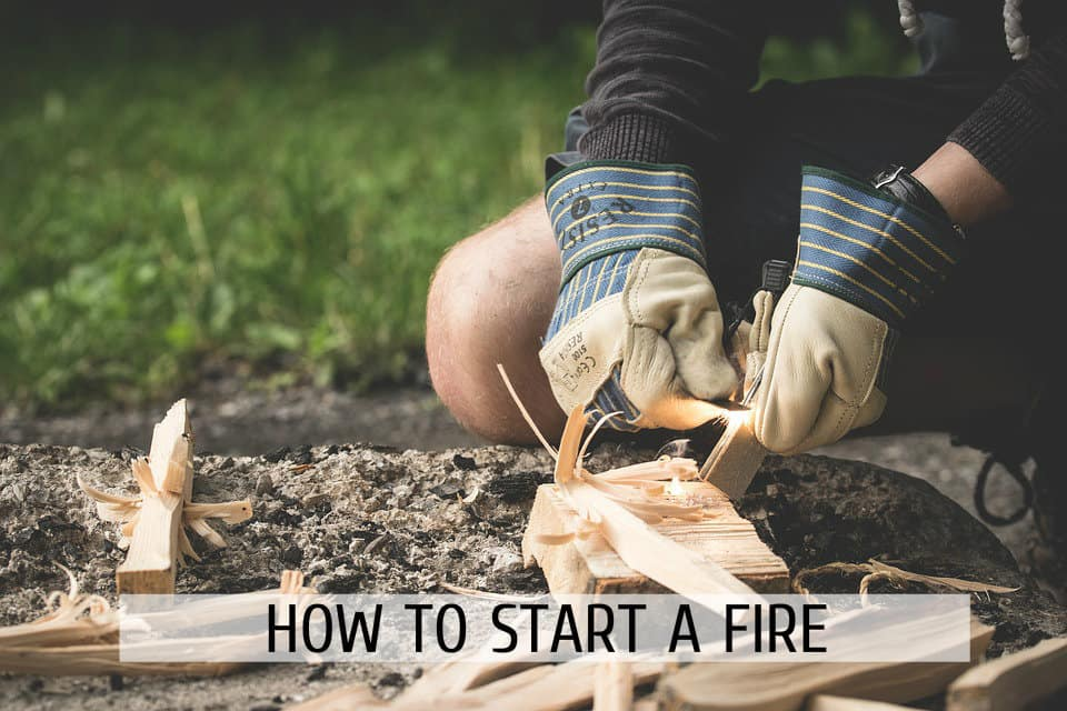 Start a Fire in the wild even without matches.