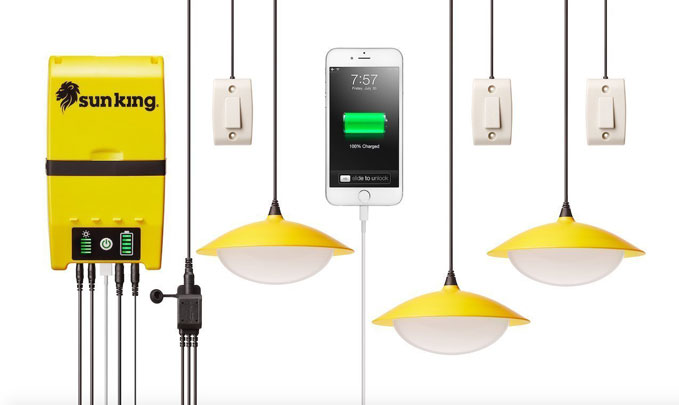 Solar Lights Sun King Solar Home Lights System Review